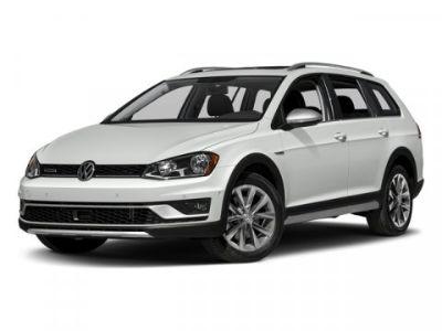 2017 Volkswagen Golf Alltrack (White)