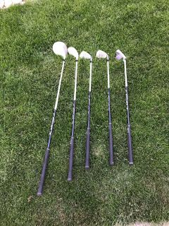 Left handed Junior Golf clubs