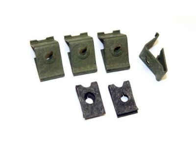 Find 1964-1966 Ford Mustang Instrument Bezel Top Retaining Clips - Set of 6 motorcycle in Vista, California, United States, for US $4.95