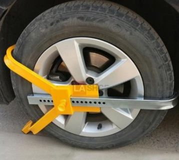 Car Wheel Lock Auto Tire Trailer Clamp Anti-Theft 20 Lock Positions