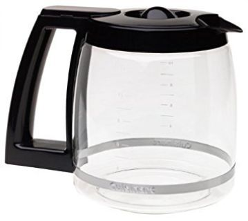 Cuisinart 12-Cup Replacement Carafe Coffee Pot in Black OEM
