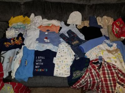 Baby boy clothing lot 3, 3-6 month