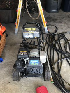 Honda 2400 psi pressure washer