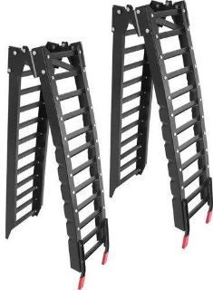 Purchase 8' FOLDING ATV TRUCK RAMPS-LAWN MOWER TRAILER RAMP KIT (AF-RK-8) motorcycle in West Bend, Wisconsin, US, for US $129.99