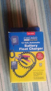 Float battery charger