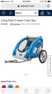 Looking for a lightly used bike trailer