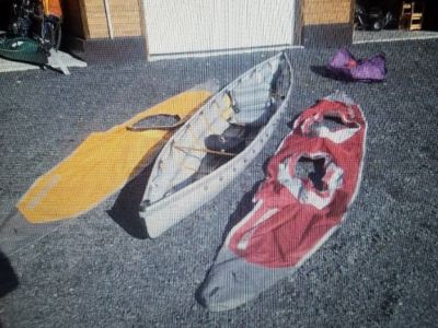 Kayak pakboat saranac 15 ft packable