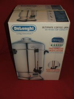 DeLonghi Ultimate Coffee Urn Commercial Stainless Model DCU72