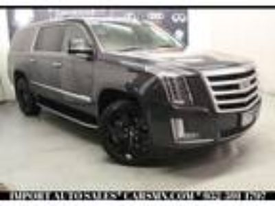 used 2017 Cadillac Escalade ESV for sale.