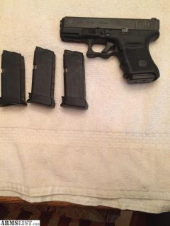 For Sale: Glock 30s w/ night sights/ Ammo
