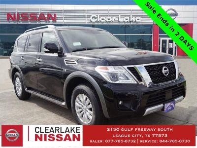 2018 Nissan Armada sv (super black)