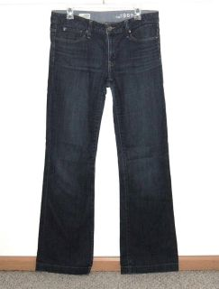 Gap 1969 Long and Lean Boot Cut Denim Jeans Tag 30/10L 10 Long 33 x 33 Tall