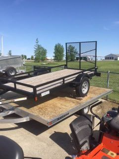 2018 Karavan Trailers 18 ATOMIC 13-101-12-WB Trail/Touring Sport Utility Trailers Francis Creek, WI