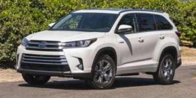 2019 Toyota Highlander Hybrid Limited Platinum (Blizzard Pearl)