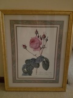 """22"""" x 17"""" approx wall picture"""