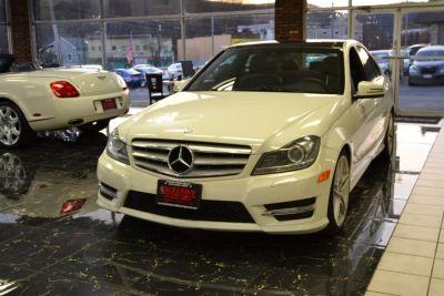 2012 Mercedes-Benz C-Class C300 4MATIC Luxury (Arctic White)