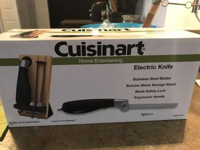 Cuisinart Electric Knife NIB porch pick up near Neapolis