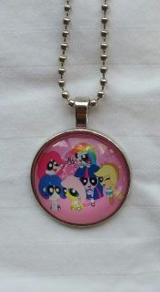 Hodgepodge My Little Pony/Power Puff Girls Necklace NEW!