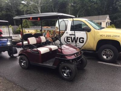 2015 E-Z-Go Shuttle 2 + 2 TXT Electric Golf Golf Carts Exeter, RI