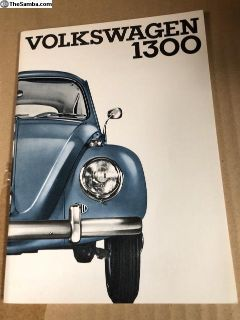 NOS 8-65 Bug owners manual