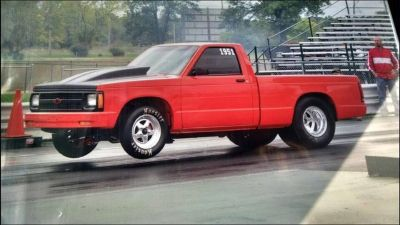 5 Second Streetable S-10 Frame Off Build