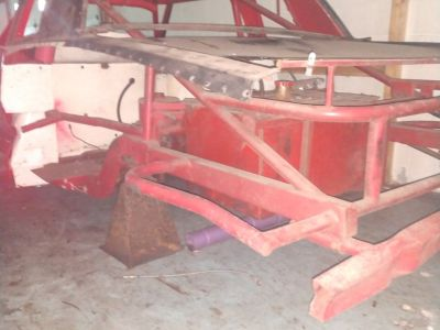 87 Monte Carlo Street Stock chassis