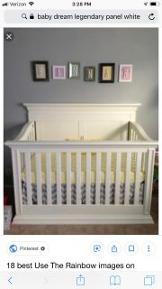 Legendary panel crib by Baby s Dream