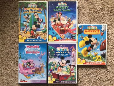 Mickey clubhouse DVDs
