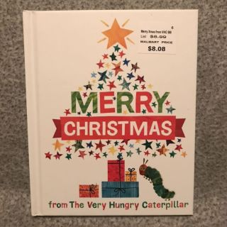 Merry Christmas from the Very Hungry Caterpillar ~ NEW