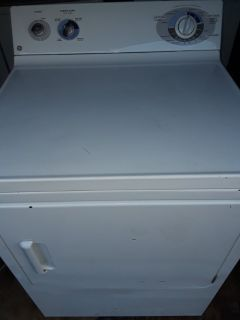 GE extra large capacity electric dryer for sale