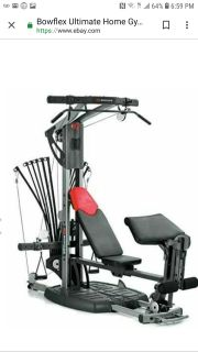 Boflex ultimate 2 in home gym