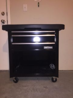 Craftsman tool working table with 4 doors