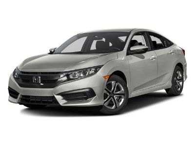 2016 Honda CIVIC SEDAN LX (Lunar Silver Metallic)