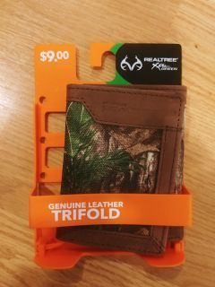 Wallet New Realtree Genuine Leather