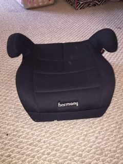 Harmony booster car seat w/ removable cover