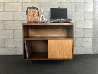 MID CENTURY MODERN Record Player Cabinet