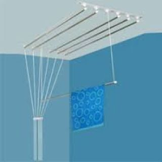 welltech cloth drying ceiling hangers
