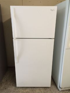 Whirlpool 14cu.ft Top Freezer Refrigerator in White