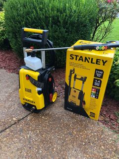 Stanley 2050 psi pressure washer- like new
