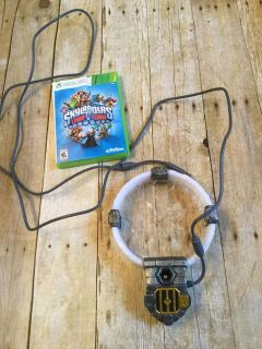 Xbox 360 skylanders trap team game and portal EUC $10 I have a huge lot of skylanders that can be used with this posted too