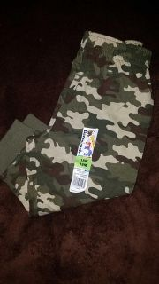NWT baby boys camo jogger pants size 18months