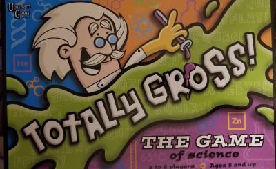 Totally Gross! Learning Game. Ages 8+. 2-4 Players