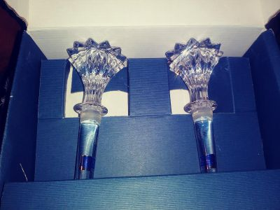 Waterford Crystal Wine Stoppers
