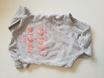 """Cute """"My Uncle Is Cooler Than Yours"""" Onesie by Carter's"""