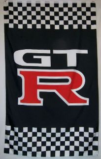 Purchase GTR Racing Car Flag 5' x 3' Indoor Outdoor Automotive Banner motorcycle in Ridgefield, Washington, United States, for US $22.97