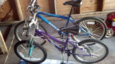 Mountain Bikes - Like New