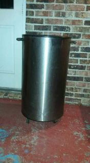 stainless steel cooler W wheels