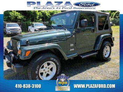 2004 Jeep Wrangler Sahara (Shale Green Metallic)