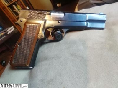 For Sale: 1972 browning hi power