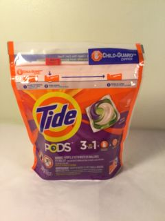 Tide three in one pods Spring Meadow, 16 count